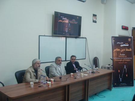 از راست: دکتر سعیدی مهر، دکتر آیت اللهی، دکتر رسولی پور